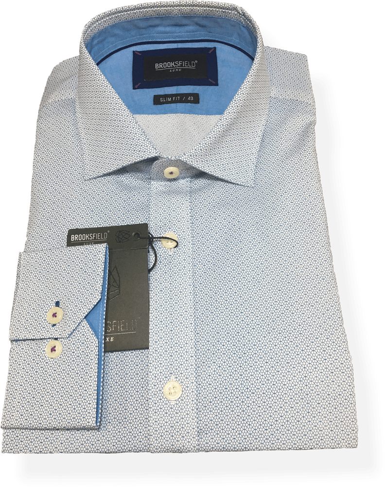 Brooksfield Luxe Business Shirt BFC1495-TEA - Harry's for Menswear