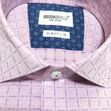 Brooksfield BFC1511 Career Grid Dobby - Harry's for Menswear