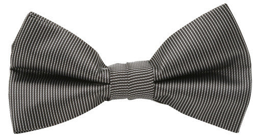 Buckle  Bow Pin Stripe Black with Hank - Harry's for Menswear