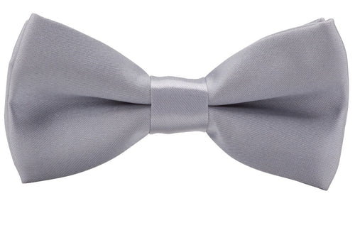 Buckle Bow Tie-Silver - Harry's for Menswear