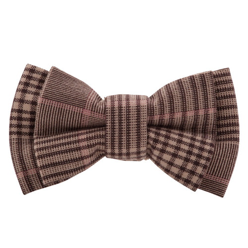 Buckle  Bow Brown Tartan with Hank - Harry's for Menswear