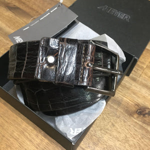 Meyer Leather Belts now at Harry's for Menswear