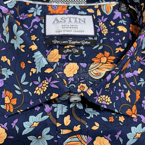 Berlin S/S Shirt S341AS- Orange - Harry's for Menswear