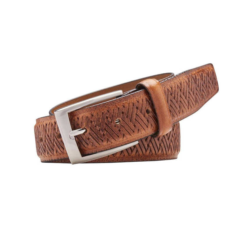 Buckel 35mm, Full Grain Natural Leather Belt - Harry's for Menswear