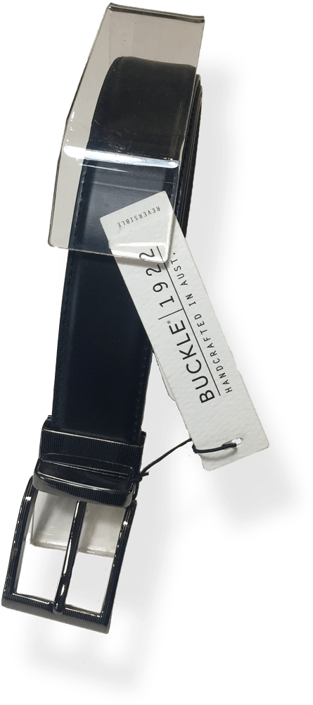 Buckle Belt Capital-Rev - Harry's for Menswear