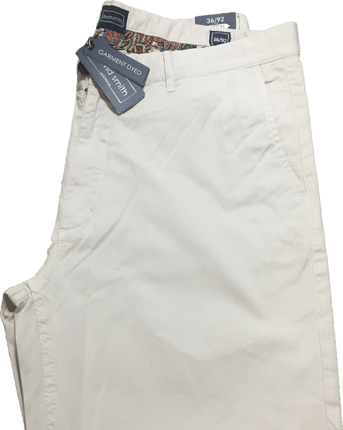 David Smith Memphis Chino's-Putty - Harry's for Menswear