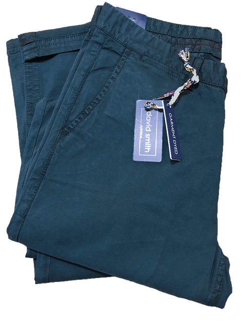 David Smith Memphis-DS2685M Chino's-Ink - Harry's for Menswear