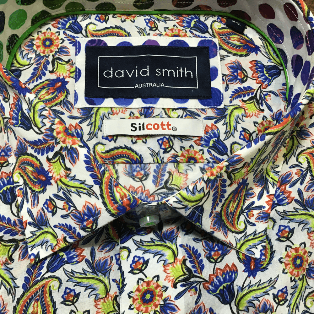 David Smith Shirt DS2837-Spearmint - Harry's for Menswear