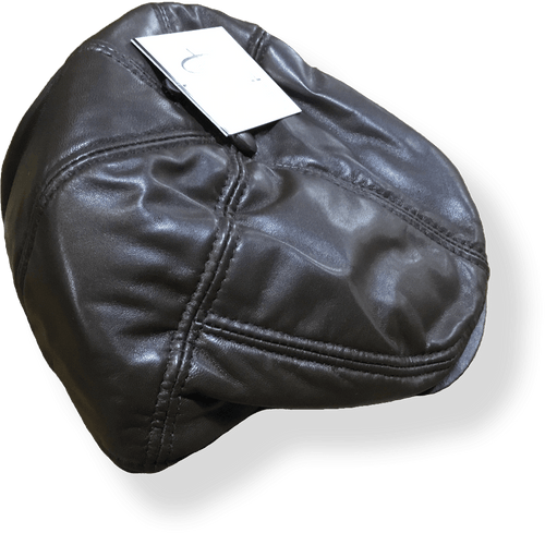 Avenel  Mens Pig Skin Leather Cap 21507.BRN - Harry's for Menswear