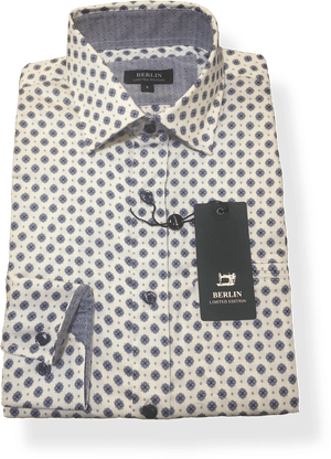 Berlin L/S Shirt L259 - Harry's for Menswear