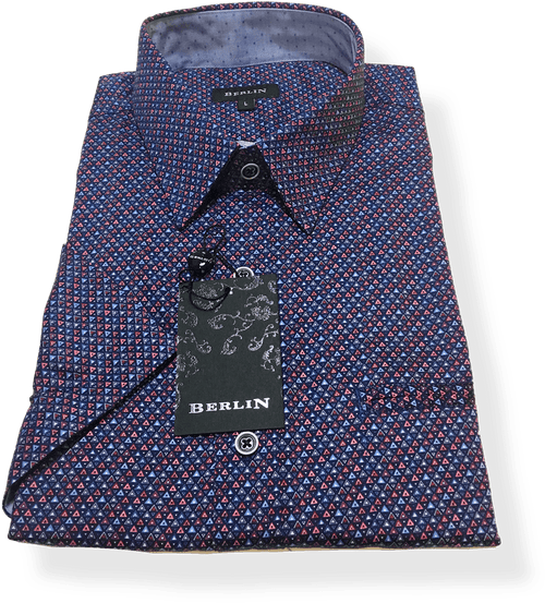 Berlin S/S Shirt S350-Wine