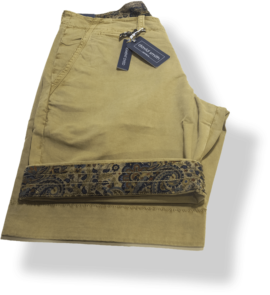 David Smith Reef Short-DS2689RP-Safari - Harry's for Menswear
