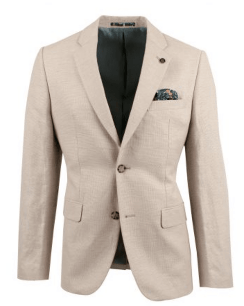 Brookfield Textured Blazer BFU801-Natural - Harry's for Menswear