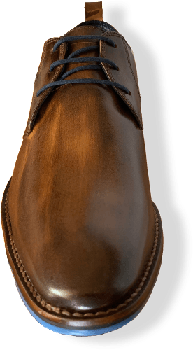 Ferracini Izett Camel Shoes now available at Harry's for Menswear