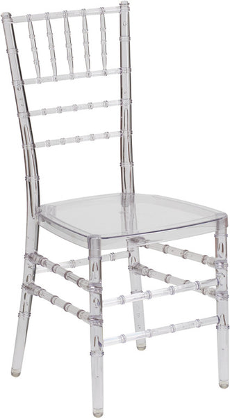 Wholesale Elegance Crystal Ice Stacking Chiavari Chair