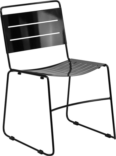 Indoor-Outdoor Metal Stack Chair