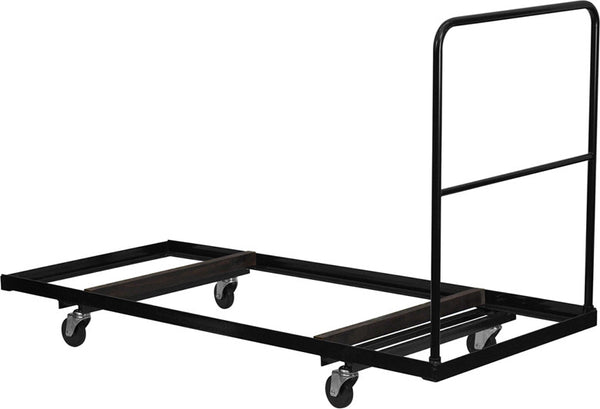 Folding Table Dolly for 30''W x 72''D Rectangular Folding Tables