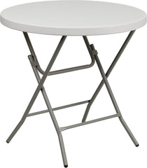 32'' Round Granite Plastic Folding Table