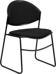 550 lb. Capacity Padded Stack Chair w/ Frame