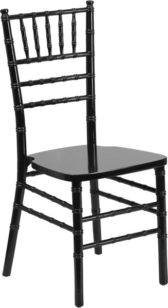 The Classic Black Wood Chiavari Chair