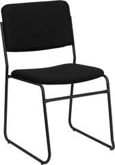 1000 lb. Capacity High Density Fabric Stacking Chair w/Sled Base