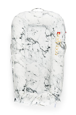 DockaTot Deluxe+ Dock - Carrara Marble  (Personalization Available)