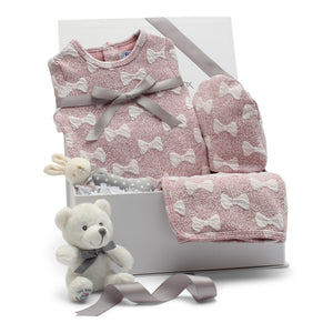 AW19 Baby Gift Set | Bows Galore | Pink