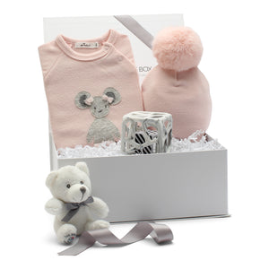 AW19 Baby Gift Set | Miss Mouse  | Pink
