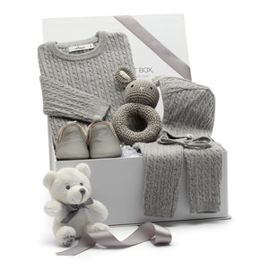 AW19 Baby Gift Set | Cashmere Cuddles | Sand
