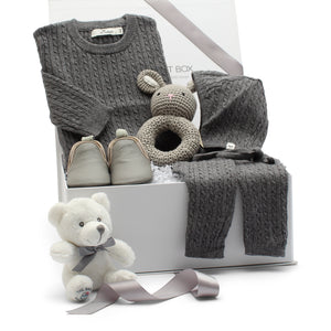 AW19 Baby Gift Set | Cashmere Cuddles | Stone