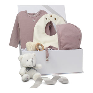 Baby Girl Gift Set | Pointelle Pretty | Violet | SS21
