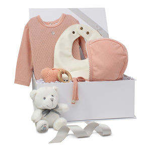 Baby Girl Gift Set | Pointelle Pretty | Peachy Pink | SS21