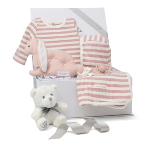 Baby Girl Gift Set | Striped Delight | Pink | SS21