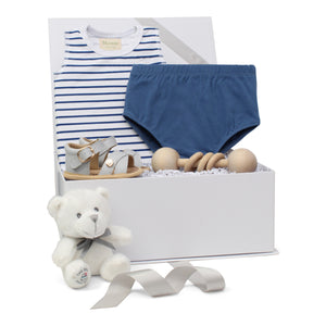 Baby Boy Gift Set | Summer Stripes | Blue  | SS21