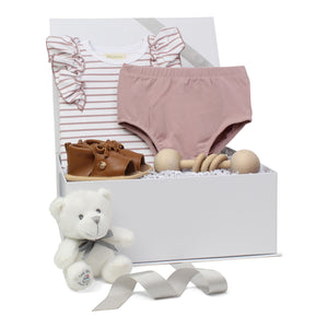 Baby Girl Gift Set | Summer Stripes  |Lavender  | SS21