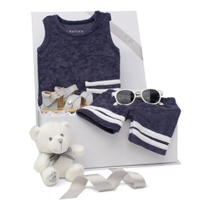 Baby Boy Gift Set | Terry Navy  | SS21