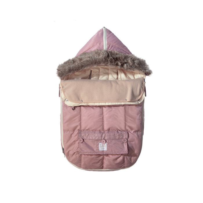 7 A.M. Enfant Footmuff | Le Sac Igloo | Rose