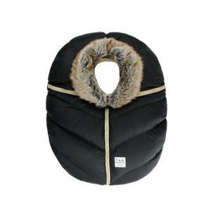 7AM | Car Seat Cocoon | Faux Fur