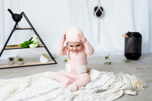 Baby Set | Hatch'd | Patch Pocket | Pink