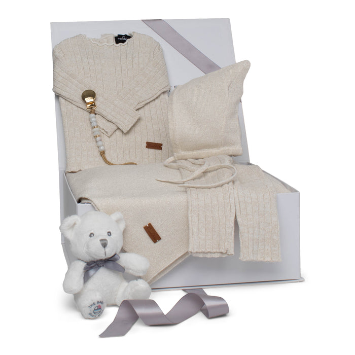 Baby Neutral Gift Set AW20 | Luxury Lurex | Gold