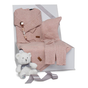 Baby Girl Gift Set AW20 | Luxury Lurex | Mauve