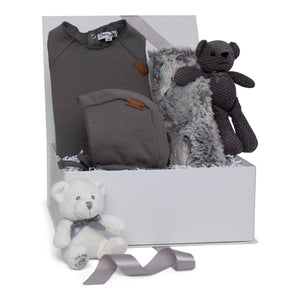 Baby Boy Gift Set AW20 | Cozy Play | Charcoal