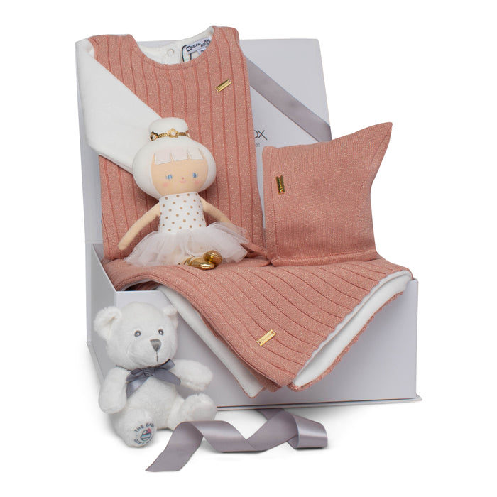 Baby Girl Gift Set AW20 | Sparkle Baby | Mauve