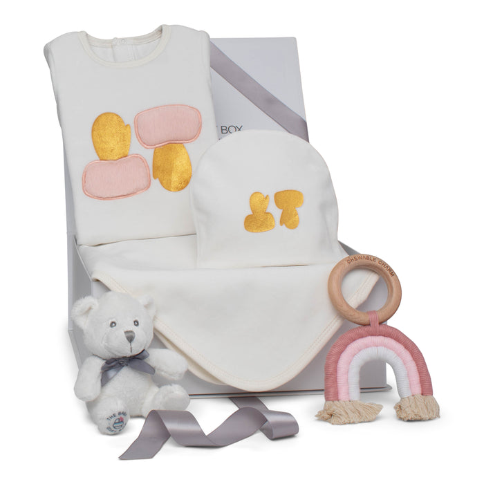 Baby Girl Gift Set AW20 | Magical Mittens | Pink