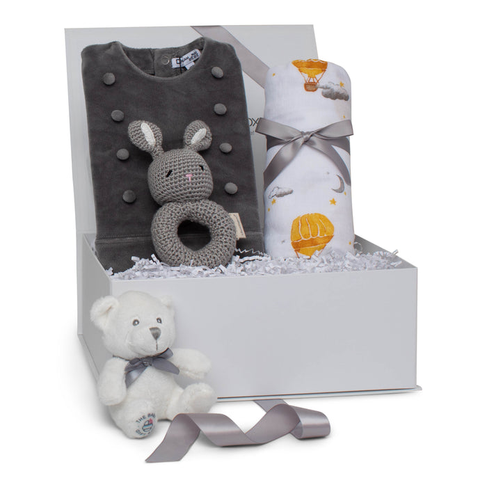 Baby Boy Gift Set AW20 | Little Gentleman | Grey