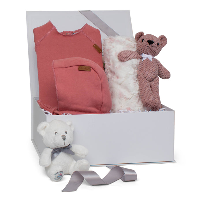 Baby Girl Gift Set AW20 | Cozy Play | Coral