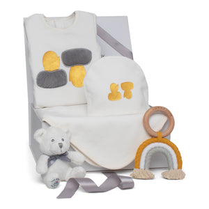 Baby Boy Gift Set AW20 | Magical Mittens | Grey