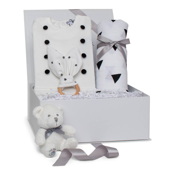 Baby Boy Gift Set AW20 | Little Gentleman | Black and White