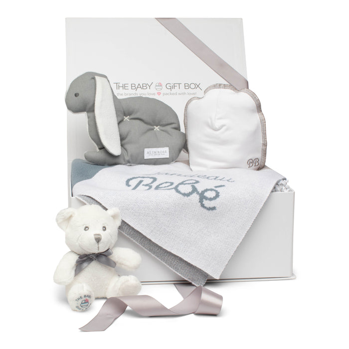 Baby Gift Set | Soft Snuggles | Grey