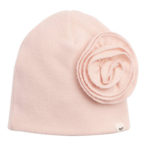 Layette Collection |  Flower Ruffle Hat | Oh Baby! | Pink